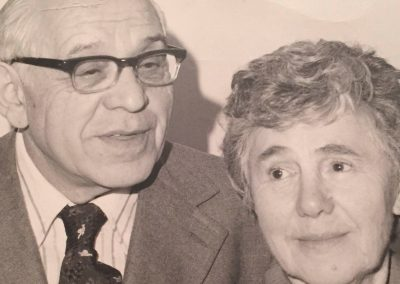 May's parents – Manya & Sam Lipshitz later years