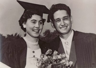 May and Gerry Graduation 1955